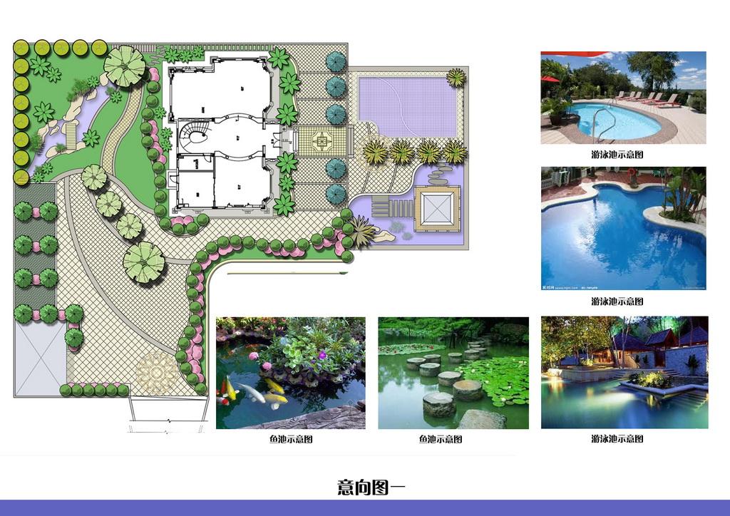 别墅庭院平面图